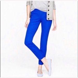 J.Crew royal blue Minnie Ankle Pants 2